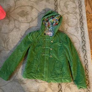 Green jacket size M